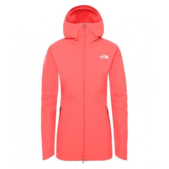 The North Face Hikesteller Parka Shell Jacket Damen Regenjacke cayenne red hier im The North Face-Shop günstig online bestellen