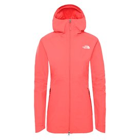 The North Face Hikesteller Parka Shell Jacket Damen Regenjacke cayenne red