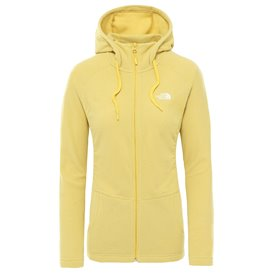 The North Face Mezzaluna Fullzip Hoodie Damen Fleecejacke bamboo yellow hier im The North Face-Shop günstig online bestellen