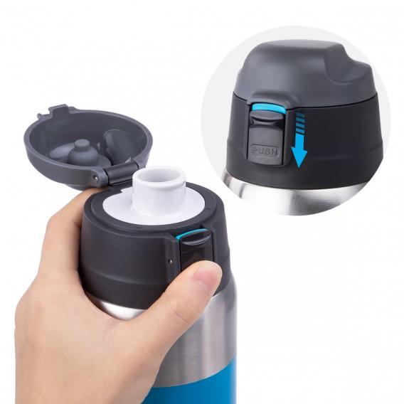 Naturehike Vakuum Thermobecher Isolierbecher 600ml blue-white hier im Naturehike-Shop günstig online bestellen