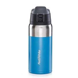 Naturehike Vacuum Cup 600ml Isolierflasche Trinkflasche blue