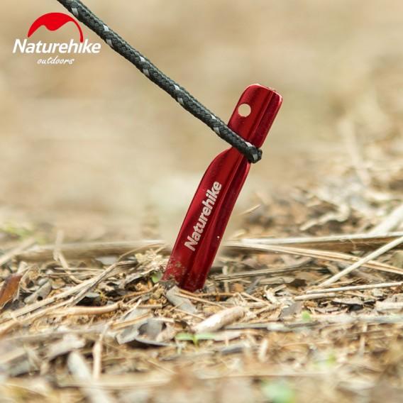 Naturehike V-Shape Zeltheringe Set mit 8 Stück rot hier im Naturehike-Shop günstig online bestellen