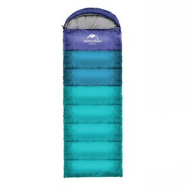Naturehike U350 Schlafsack warmer Baumwoll Deckenschlafsack blue