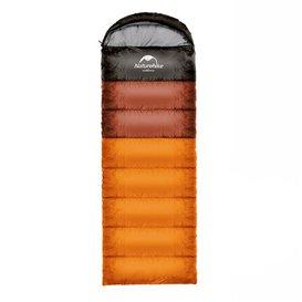 Naturehike U350 Schlafsack warmer Baumwoll Deckenschlafsack orange
