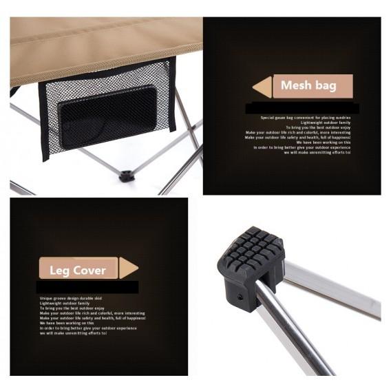 Naturehike Super Lite faltbarer Campingtisch aus Aluminium L black hier im Naturehike-Shop günstig online bestellen