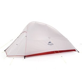 Naturehike Cloud Up 2 SI Ultralight Updated Kuppelzelt grey-red