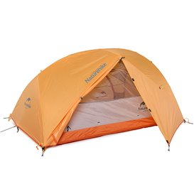 Naturehike Star River 2 PU Kuppelzelt 2 Personen Campingzelt orange