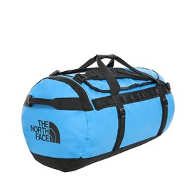 The North Face Base Camp Duffel Reisetasche lake blue-black
