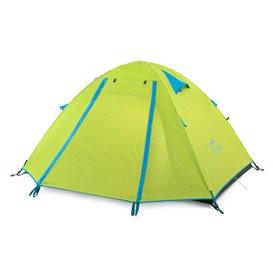 Naturehike P-Series Knurling PU Tent Zelt 3 Personen Igluzelt green