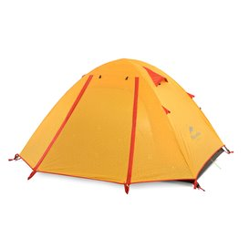 Naturehike P-Series Knurling PU Tent Zelt 4 Personen Igluzelt orange