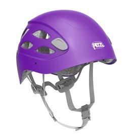 Petzl Borea Kletterhelm für Damen Kopfschutz zum Bergsteigen violett