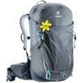 Deuter Trail Pro 30 SL Damen Rucksack Wanderrucksack graphite-black