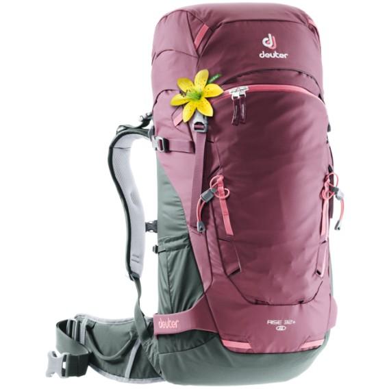 Deuter Rise 32+ SL Damen Rucksack Skitouren- & Freeriderucksack maron-ivy hier im Deuter-Shop günstig online bestellen