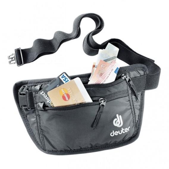 Deuter Security Money Belt I Geldgürtel Bauchtasche black hier im Deuter-Shop günstig online bestellen