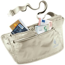 Deuter Security Money Belt II Geldgürtel Bauchtasche sand