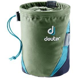 Deuter Gravity Chalk Bag I L Magnesiumtasche Kreidebeutel khaki-navy
