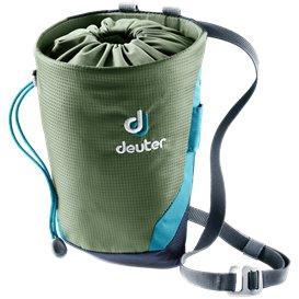 Deuter Gravity Chalk Bag II L Magnesiumtasche Kreidebeutel khaki-navy