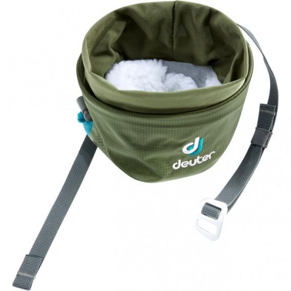 Deuter Gravity Chalk Bag II L Magnesiumtasche Kreidebeutel khaki-navy hier im Deuter-Shop günstig online bestellen
