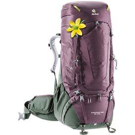 Deuter Aircontact PRO 65+15 SL Trekkingrucksack aubergine-ivy hier im Deuter-Shop günstig online bestellen