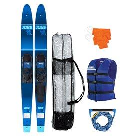 Jobe Allegre 67 Inch Wasserski Set mit Weste + Tasche + Hantel blau