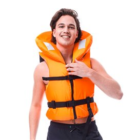Jobe Comfort Boating Vest 100N Nylon Weste orange