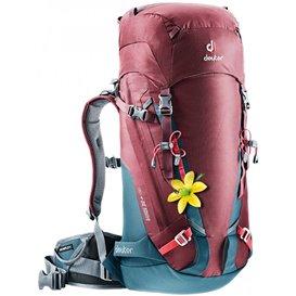 Deuter Guide 30+ SL Alpin-Rucksack Damen Kletterrucksack maron-arctic (blau-rot) hier im Deuter-Shop günstig online bestellen