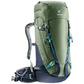 Deuter Guide 35+ Alpin-Rucksack Skirucksack khaki-navy (grün-blau) hier im Deuter-Shop günstig online bestellen