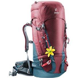 Deuter Guide 40+ SL Alpin-Rucksack Damen Kletterrucksack maron-arctic (blau-rot)
