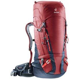 Deuter Guide 45+ Alpin-Rucksack Kletterrucksack cranberry-navy (blau-rot)