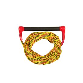Jobe Ski Combo Transfer Leine für Wakeboard & Wasserski Seil rot