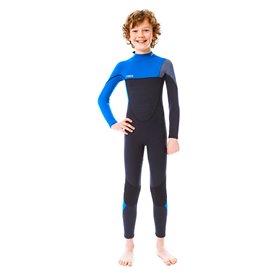 Jobe Boston 3/2mm Kinder + Jugend Neoprenanzug Fullsuit blau