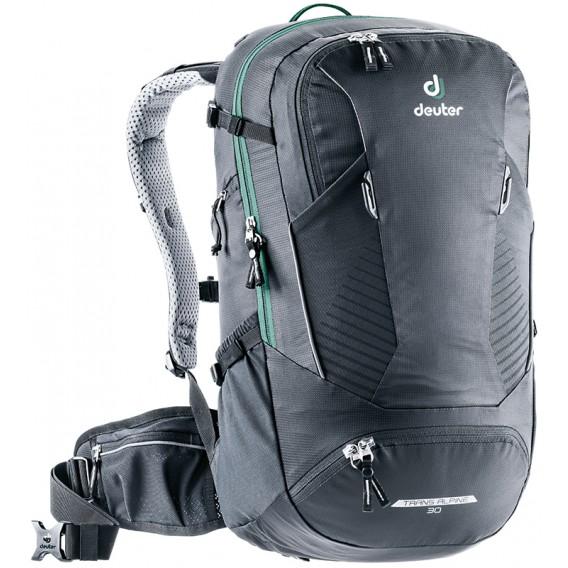 Deuter Trans Alpine 30 Daypack Fahrrad und Wanderrucksack black hier im Deuter-Shop günstig online bestellen