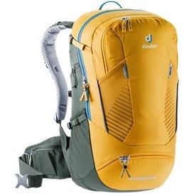 Deuter Trans Alpine 30 Daypack Fahrrad und Wanderrucksack curry-ivy hier im Deuter-Shop günstig online bestellen