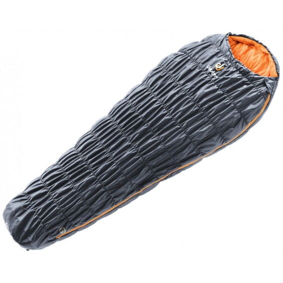 Deuter Exosphere 0° SL Schlafsack Damen Mumienschlafsack Zip Right graphite-mango hier im Deuter-Shop günstig online bestellen