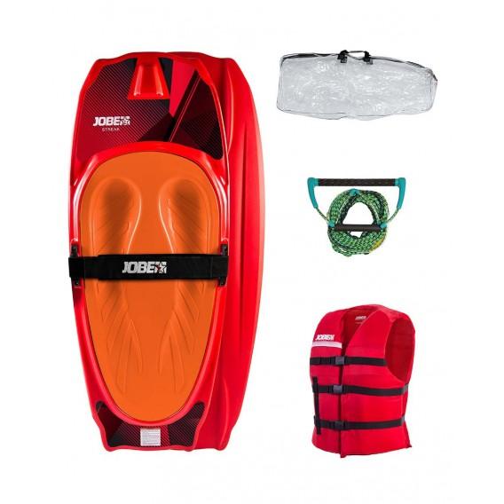 Jobe Streak Kneeboard Package Rot hier im Jobe-Shop günstig online bestellen