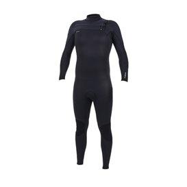 ONeill Hyperfreak 5/4 Plus Chest Zip Herren Fullsuit Neoprenanzug black