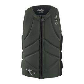 ONeill Slasher Comp Vest Herren Neopren Prallschutzweste olive-black