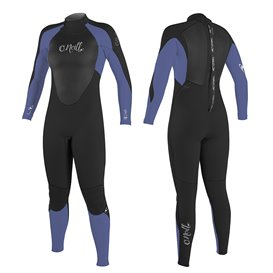 ONeill Women Epic 3/2 Back Zip Damen Fullsuit Neoprenanzug black-mist