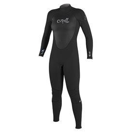 ONeill Women Epic 5/4 Back Zip Damen Fullsuit Neoprenanzug black