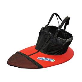 Gumotex Spritzschürze Universell für Gumotex Boote rot-schwarz