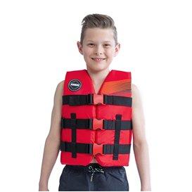 Jobe Nylon Schwimmweste Kinder rot
