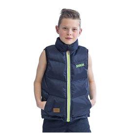 Jobe 50 Newton Bodywarmer modische Kinderweste mit Auftrieb Midnight blau hier im Jobe-Shop günstig online bestellen