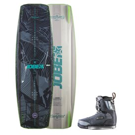 Jobe Conflict Wakeboard 134 & Charge Bindung Set