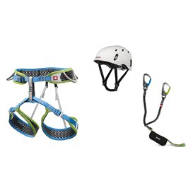 Ocun Via Ferrata WeBee Pail Set Klettergurt mit Via Ferrata Captur