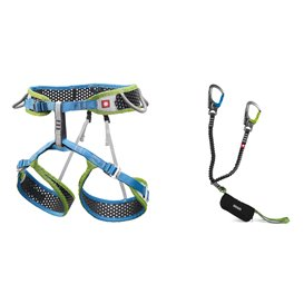 Ocun Ferrata WeBee Set Klettergurt mit Via Ferrata Captur