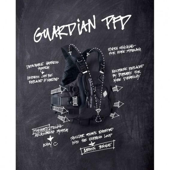 Hiko Guardian PFD Wildwasser Paddelweste black hier im Hiko-Shop günstig online bestellen