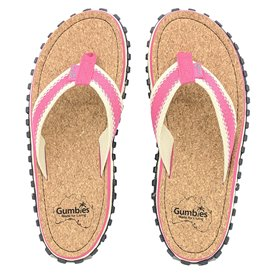 Gumbies Corker Zehentrenner Badelatschen Sandale pink