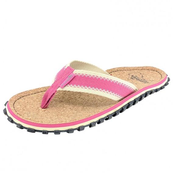 Gumbies Corker Zehentrenner Badelatschen Sandale pink hier im Gumbies-Shop günstig online bestellen