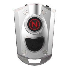 NEBO Mycro LED Schlüsselanhänger 400 Lumen Mini Taschenlampe silber