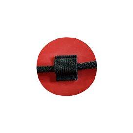 Gumotex Beschlag für umlaufendes Sicherheitsseil rot
